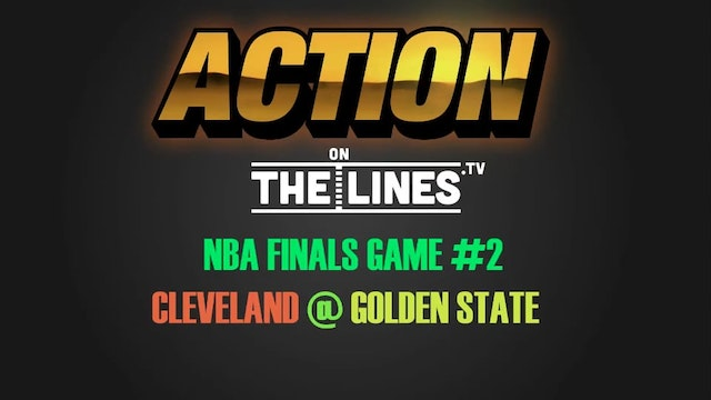 NBA- CLE @ GS- JUNE 4