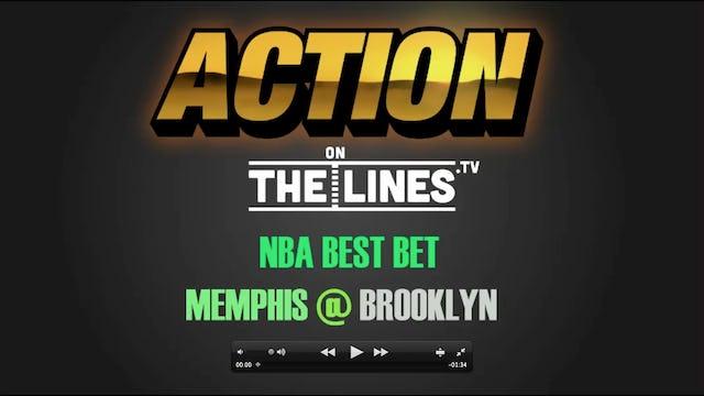 NBA- MEM @ BKN- MAR 19