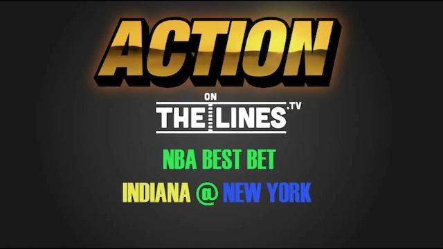 NBA- IND @ NYK- DEC 20