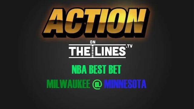 NBA- MIL @ MIN- FEB 1