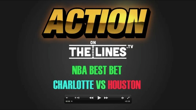 NBA- CHA @ HOU- JAN 10