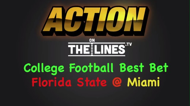CFB: FSU vs MIA- Oct 8