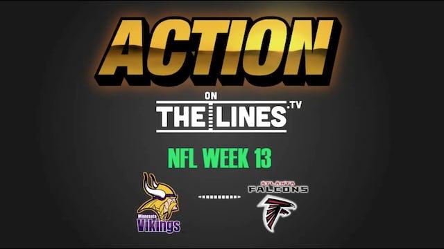 NFL- MIN @ ATL- DEC 3