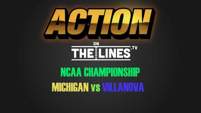 NCAA- MICH VS NOVA- APR 2