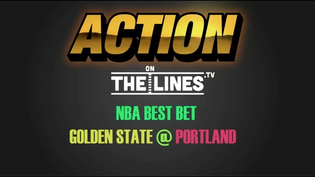 NBA- GS @ POR- APR 24