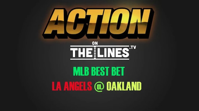 MLB- LAA @ OAK- MAY 9
