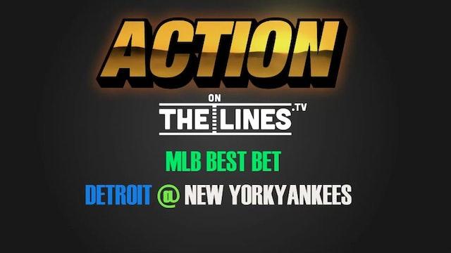 MLB- DET @ NYY- AUG 1