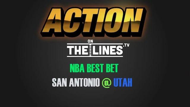 NBA- SAS @ UTA- FEB 12