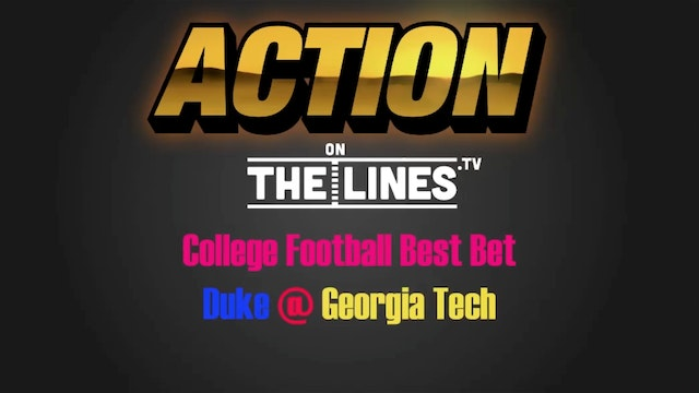 CFB- DUK vs GT- Oct 29