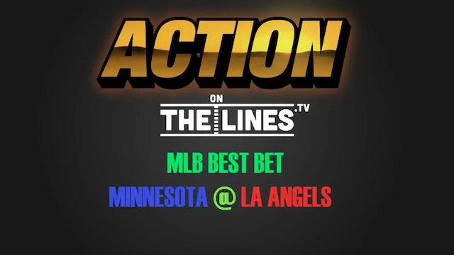 MLB- MIN @ LAA- JUNE 2