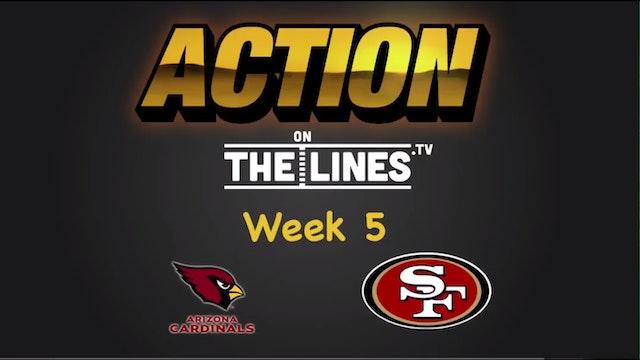 NFL: Ari vs SF- Oct 6