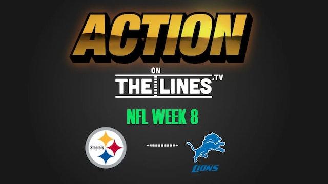 NFL- PIT @ DET- OCT 29