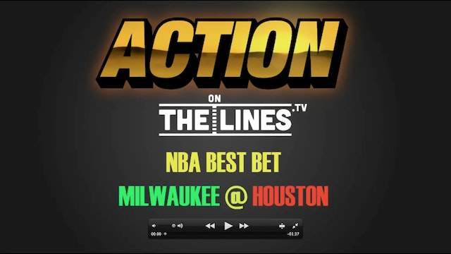 NBA- MIL @ HOU- JAN 18