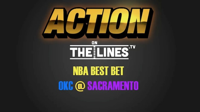 NBA- OKC vs SAC- Nov 23