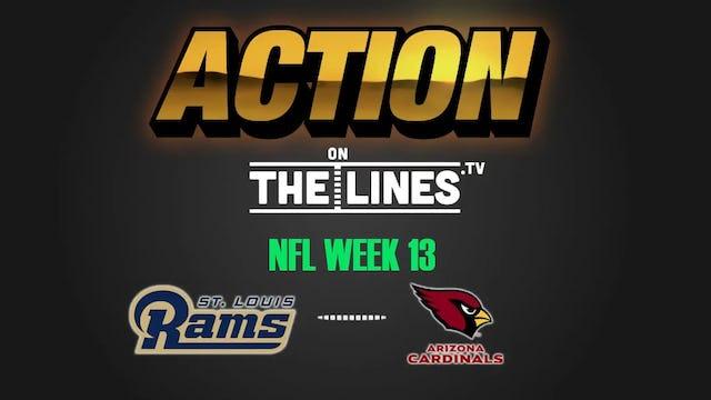 NFL- LAR @ ARI- DEC 3