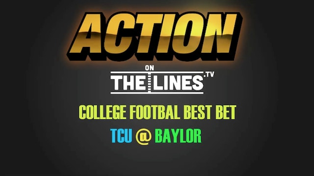 CFB- TCU vs Bay- Nov 5