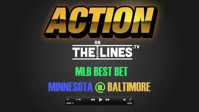 MLB- MIN @ BAL- MAR 29