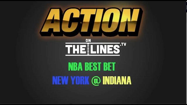 NBA- NYK @ INDY- JAN 7