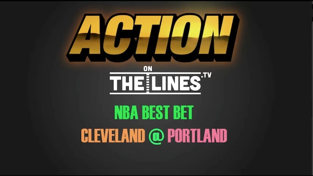 NBA- CLE @ POR- JAN 11