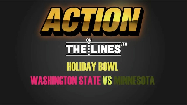 CFB- MIN VS WSU- DEC 27