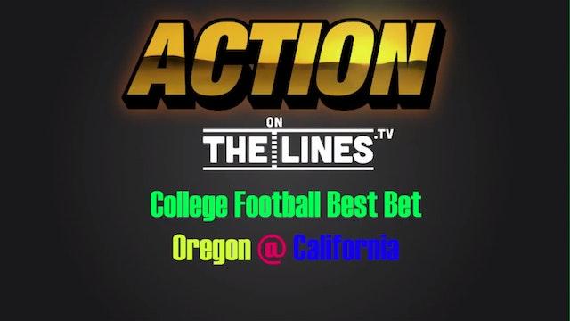 CFB: ORE vs CAL- Oct 21