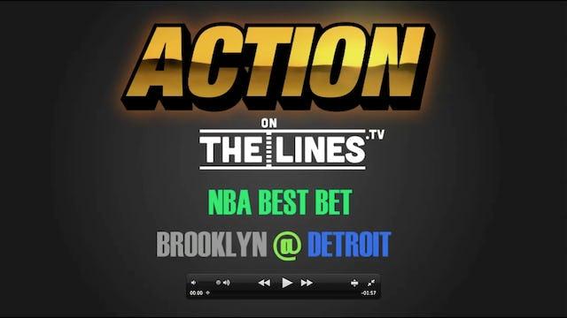 NBA- BKN @ DET- FEB 7
