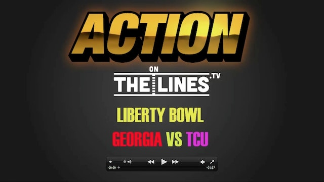 CFB- UGA VS TCU- DEC 30