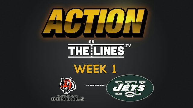 Cincinnati v. NY Jets Week 1