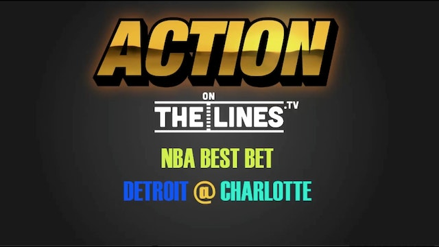 NBA- Det vs Cha- Nov 29