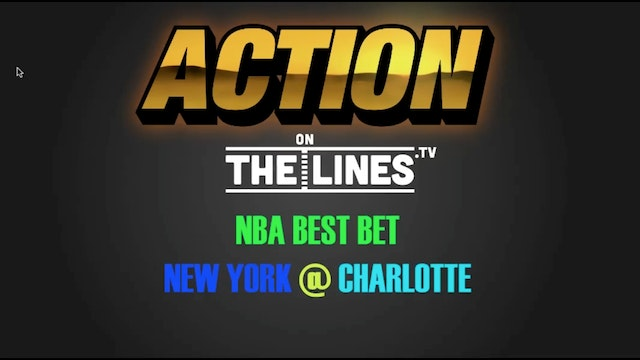 NBA- Nyk vs Cha- Nov 26