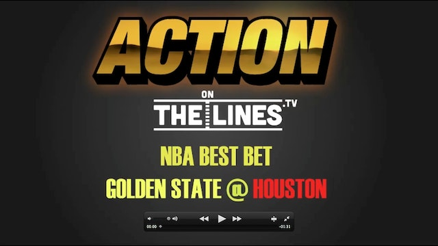NBA- GS @ HOU- JAN 20