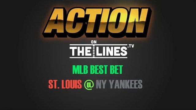 MLB- STL @ NYY- APR 14