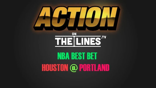 NBA- HOU @ POR- MAR 30