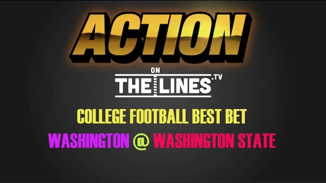 CFB- Wsh vs Wsu- Nov 25