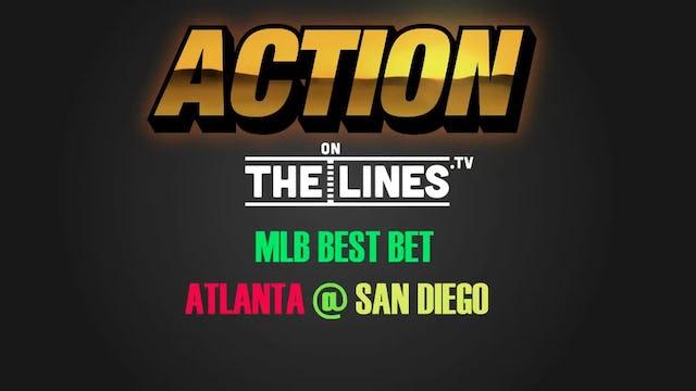 MLB- ATL @ SD- JUNE 4