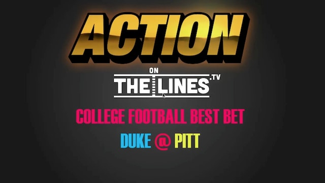 CFB- Duke vs Pit- Nov 19
