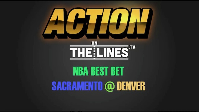 NBA- SAC @ DEN- MAR 6