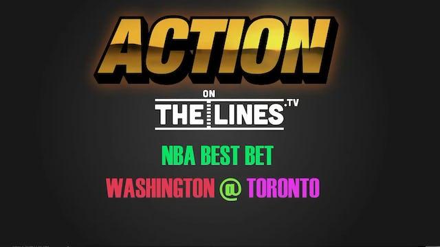 NBA- WSH @ TOR- Apr 14