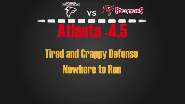 NFL- Atl vs Tam- Nov 3