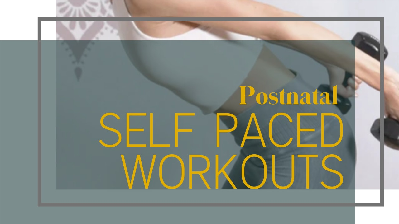 Self Paced Workouts