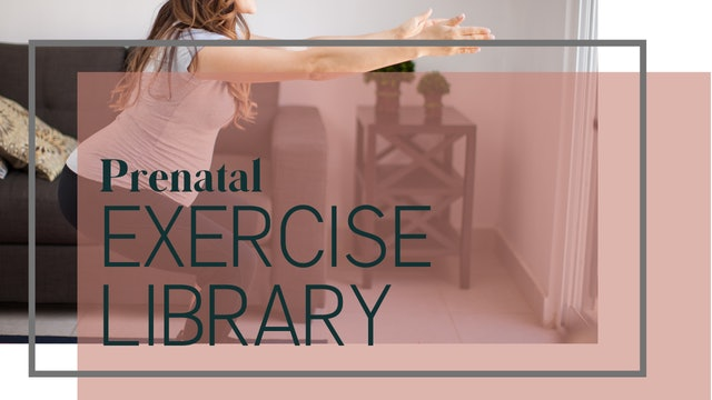 Prenatal Exercise Library