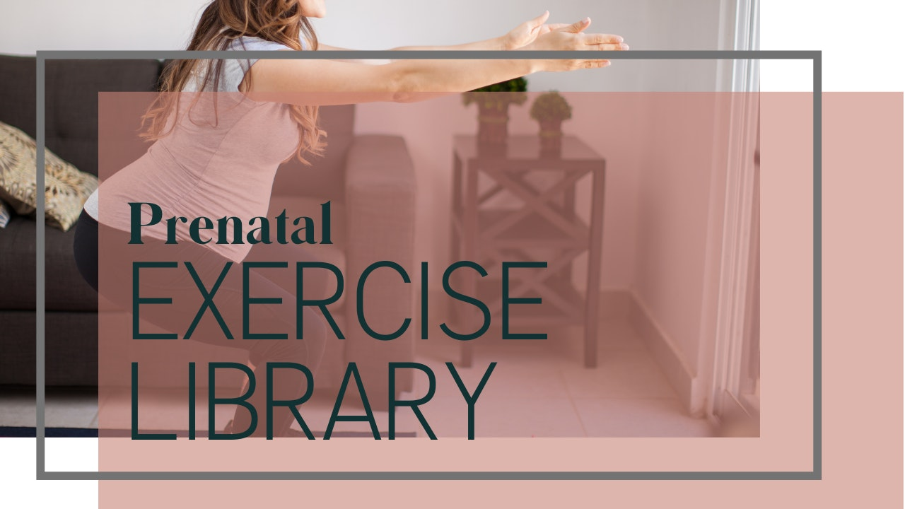 Prenatal Exercise Library