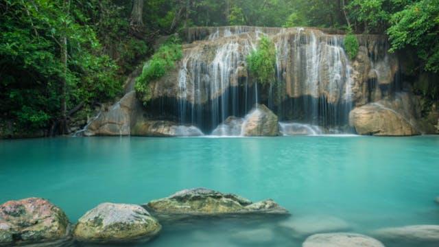Waterfall Guided Meditation.