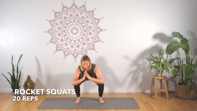Circuit 2 // Exercise 2 ~ Rocket Squats