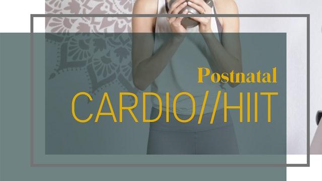 Postnatal Cardio // HIIT