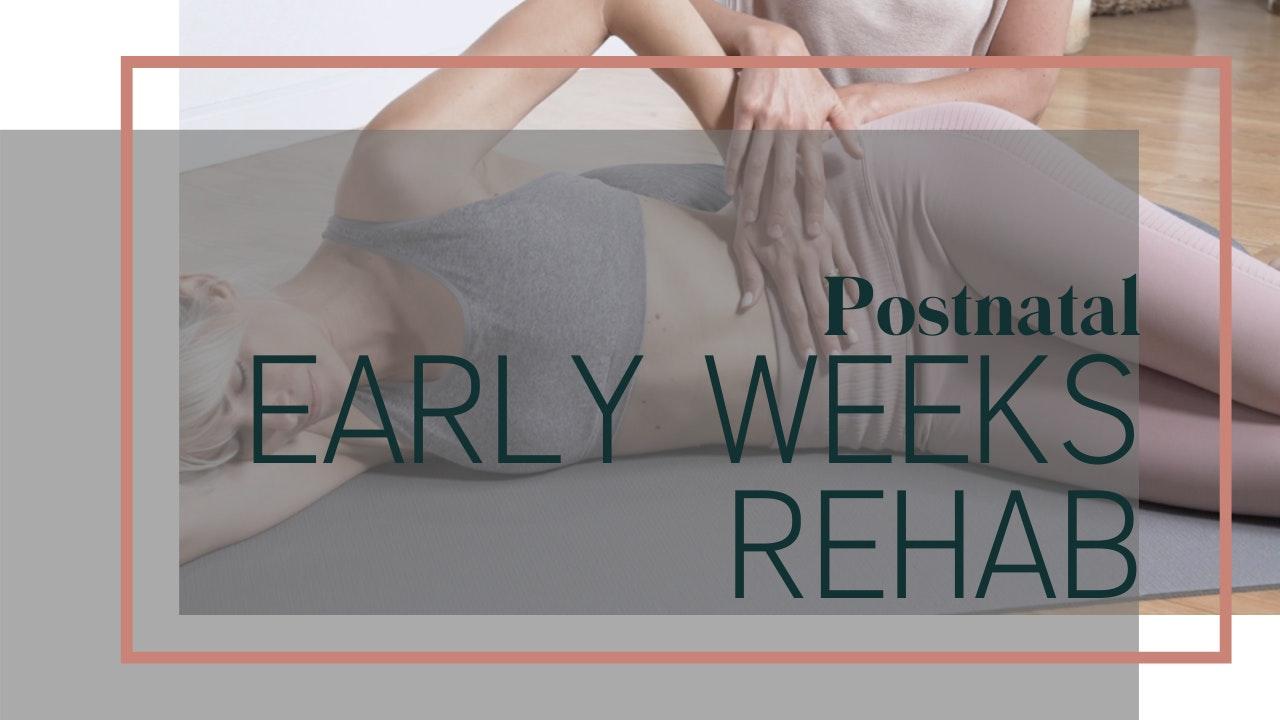 Early Weeks Postnatal Rehab 6 Week Program
