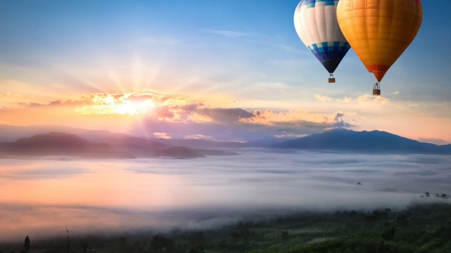Hot Air Balloon Meditation
