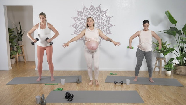 Prenatal Mama Strong 3 (All Levels)