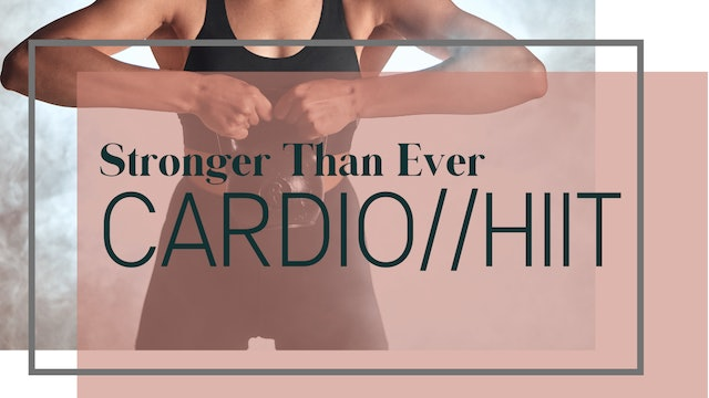 Advanced Cardio // HIIT