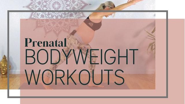 Prenatal Bodyweight Workouts
